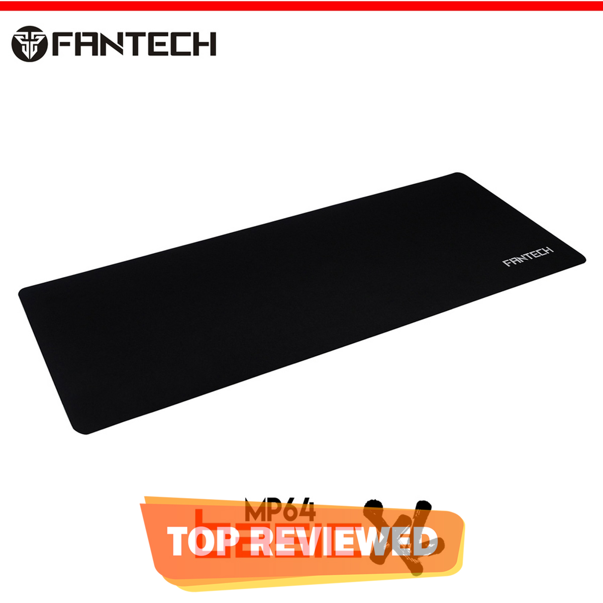 FANTECH MP64 Gaming Mouse Pad Extended Large Cloth Gamer Mouse Pad with Custom Logo For PC Laptop