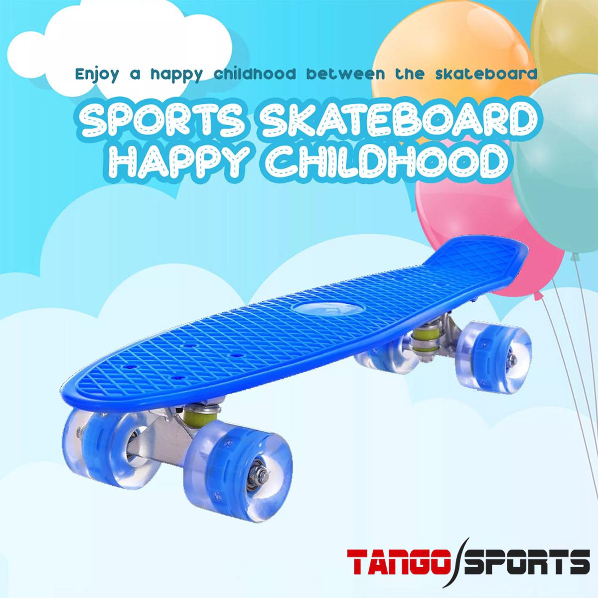Fiber skateboard 22 inch for boys and girls - Breakproof skate boards