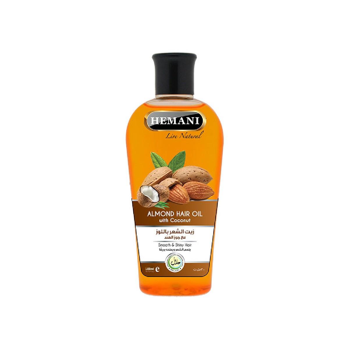 Hemani Almond Hair Oil 100ml