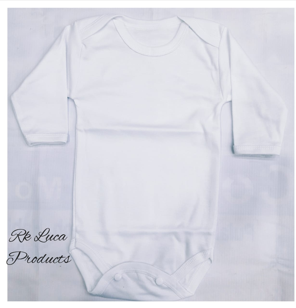 Pack Of 3 White Baby Romper Body Cotton Sleeve Suit
