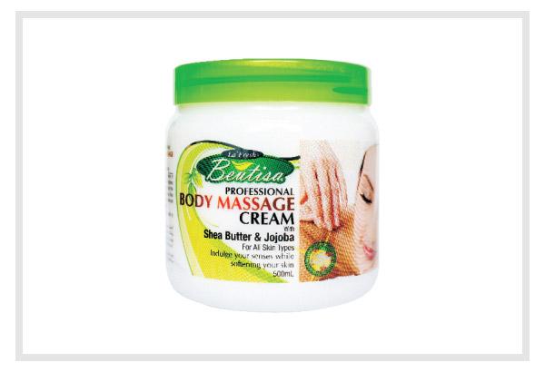 body massage cream - 500ml