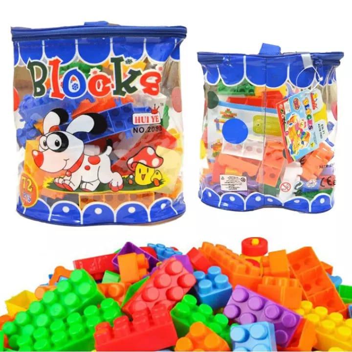 Building Blocks for Kids 72 Pcs