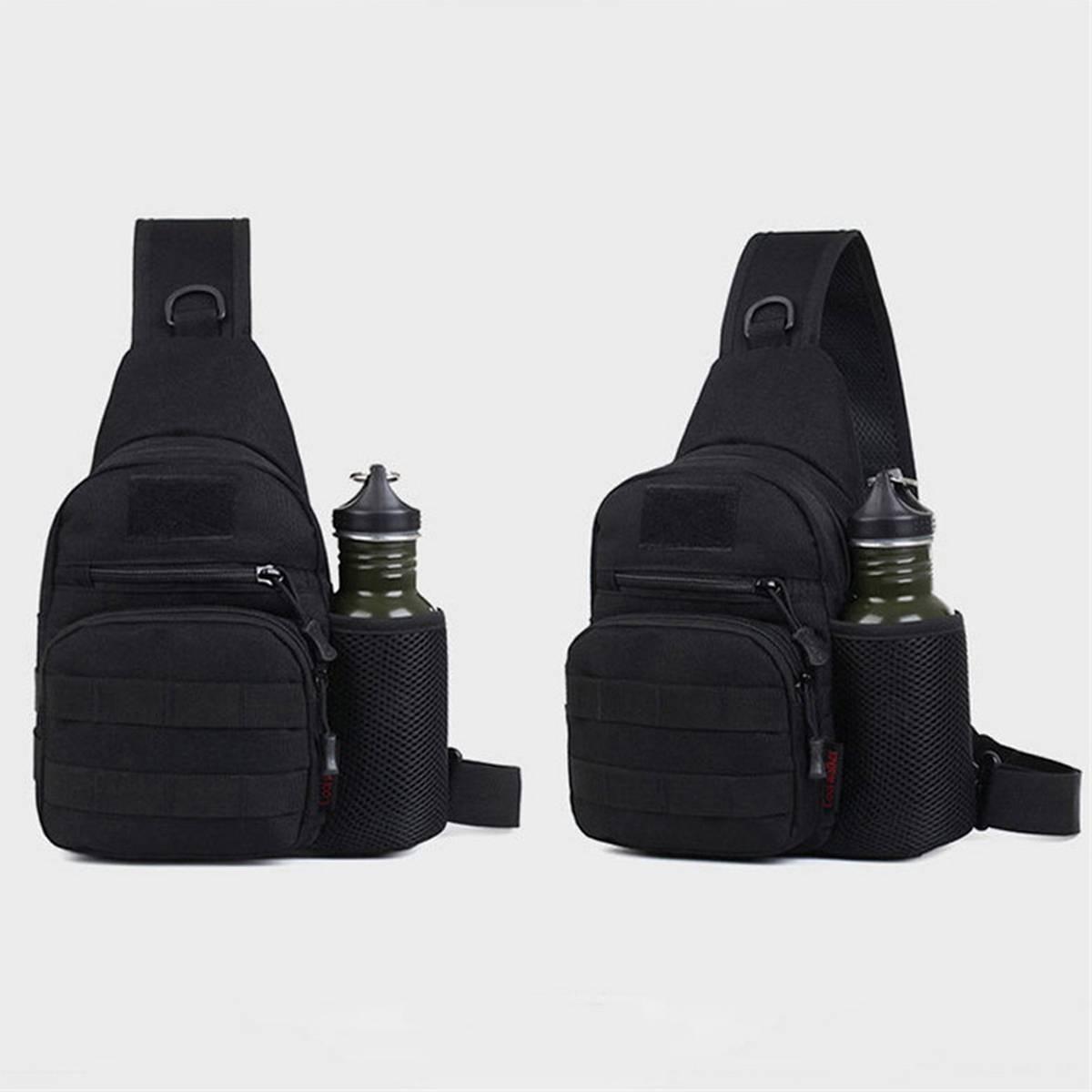 Men's Camo Chest Sling Bag Outdoor Sport Crossbody Bag Pack Shoulder Bags
