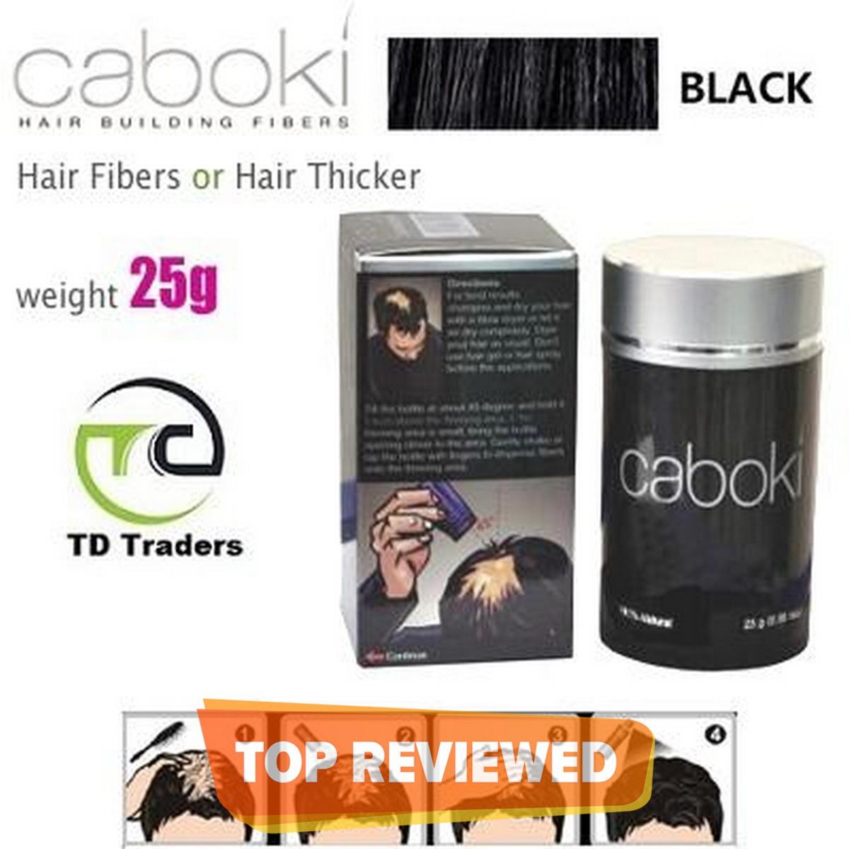 Caboki Hair Fibers Black 25g