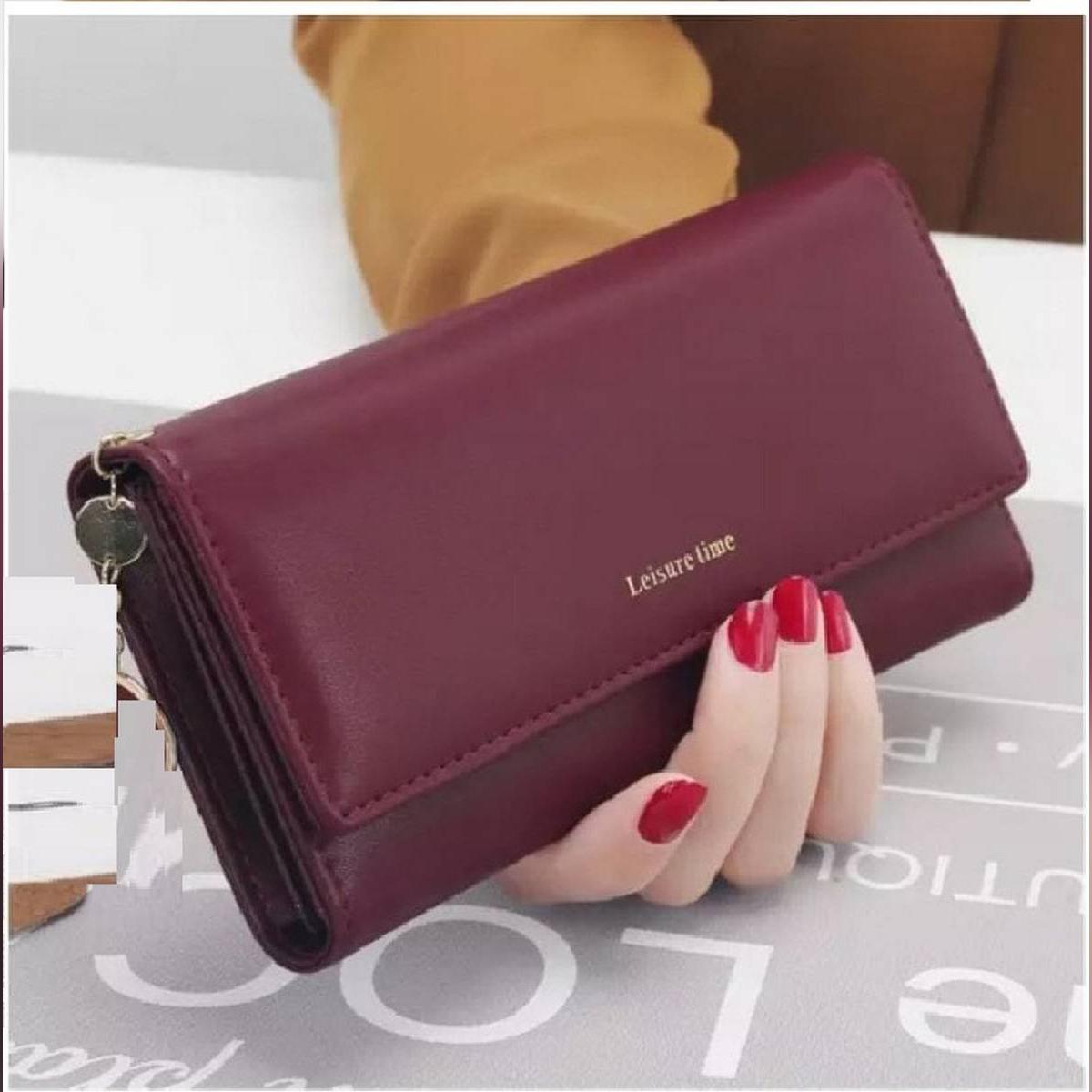 Clutch Hand Purse Women Wallet - Stylish Leather Mobile Wallets