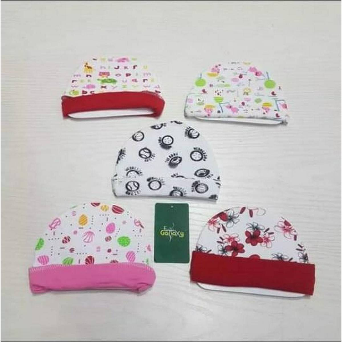 Pack of 5 thailand babys Cap Multi color and Design