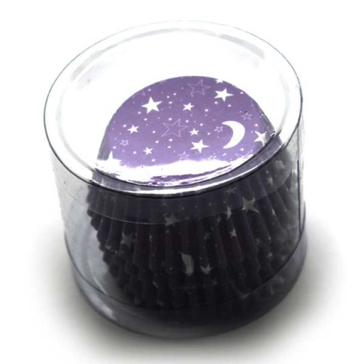 Mini Cupcake Liner Nighttime