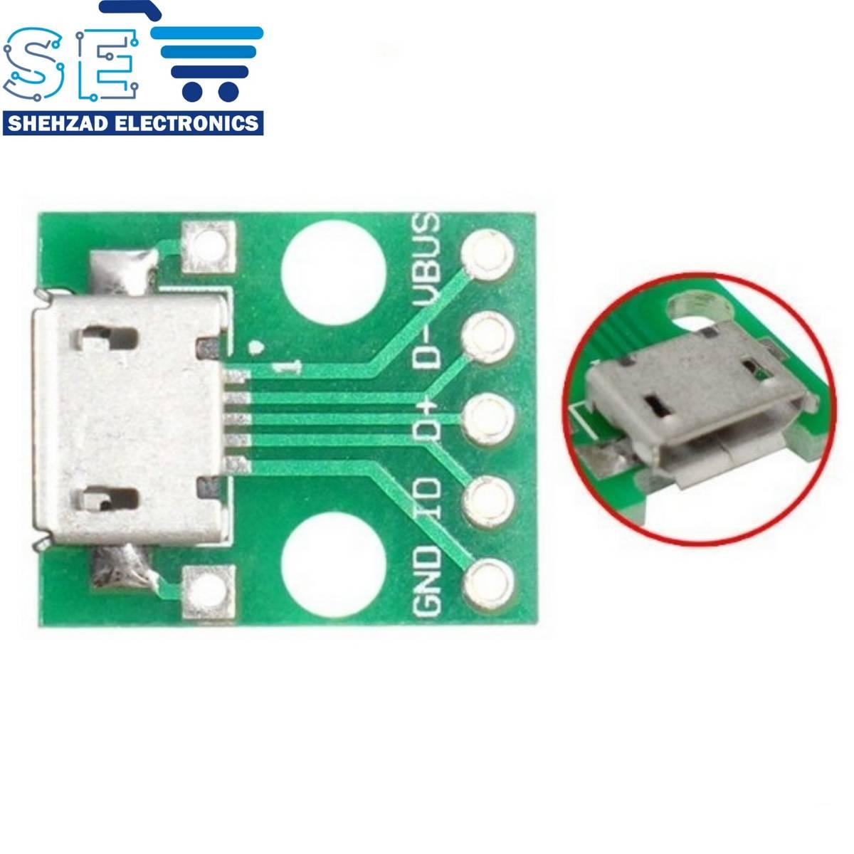 MICRO USB To DIP Adapter B Type Board Converter