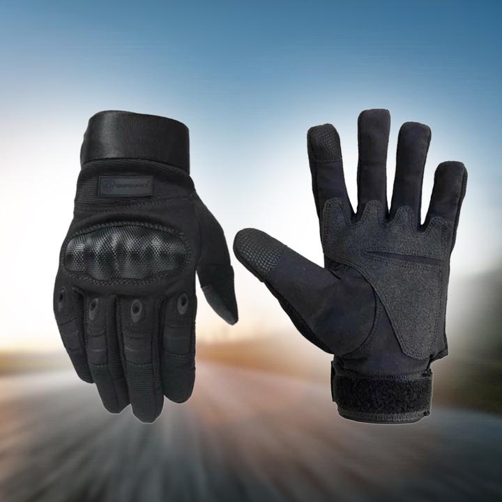Biker Full Finger touch screen Gloves for Men