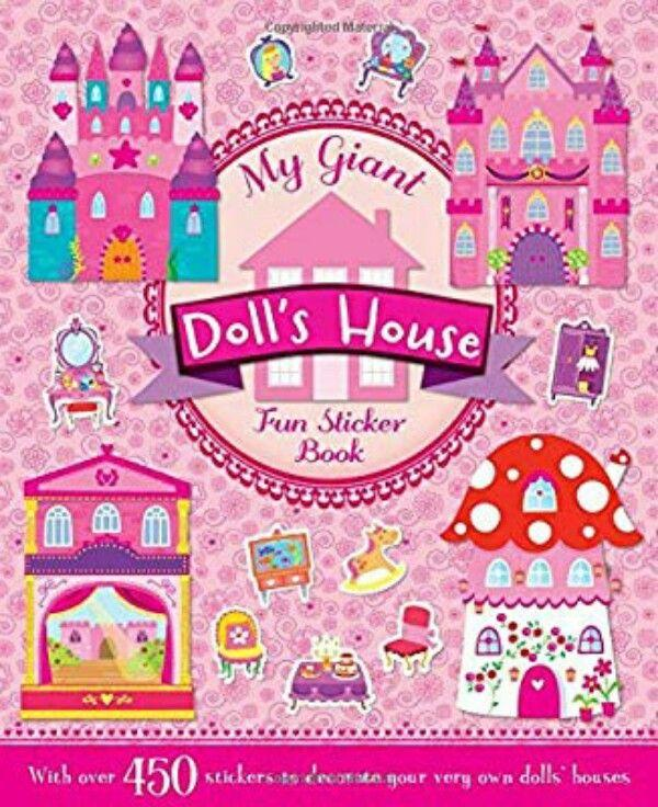 My Giant Sticker and Activity Dolls House Book