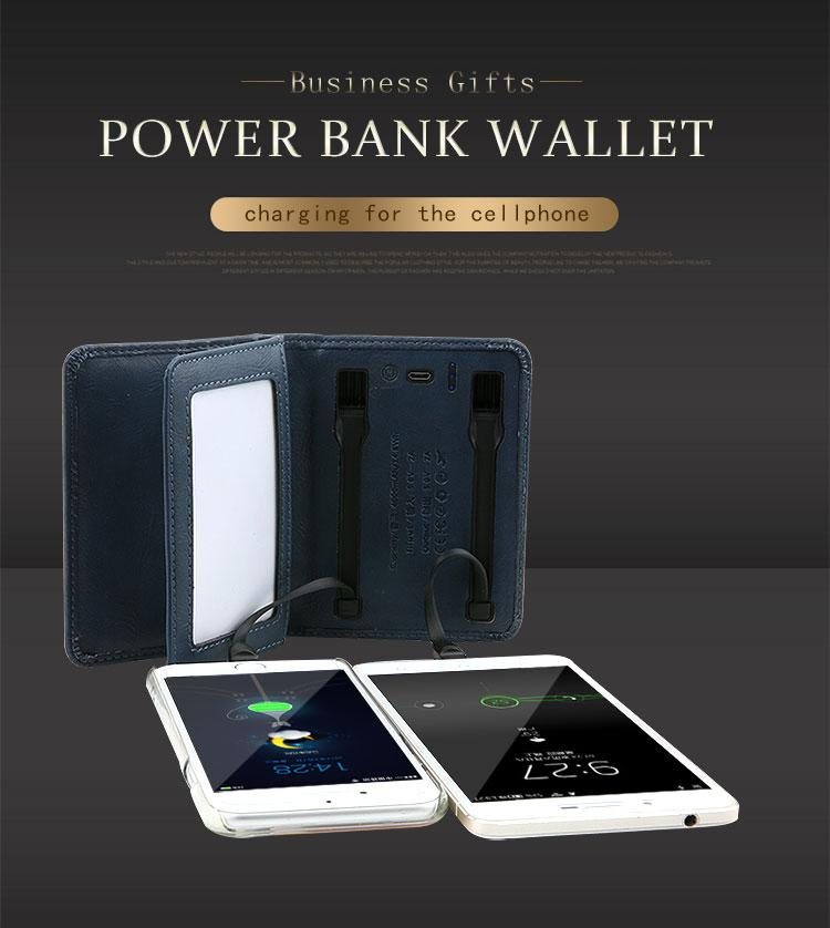 E-Charge Wallet Plus Power Bank Plus Card Money Holder