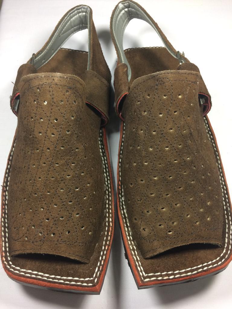 fbc357a19cac 70% Off New Stylish Leather Mens Brown Balaaj Peshawari Sandal Chappal for  Style   Comfort