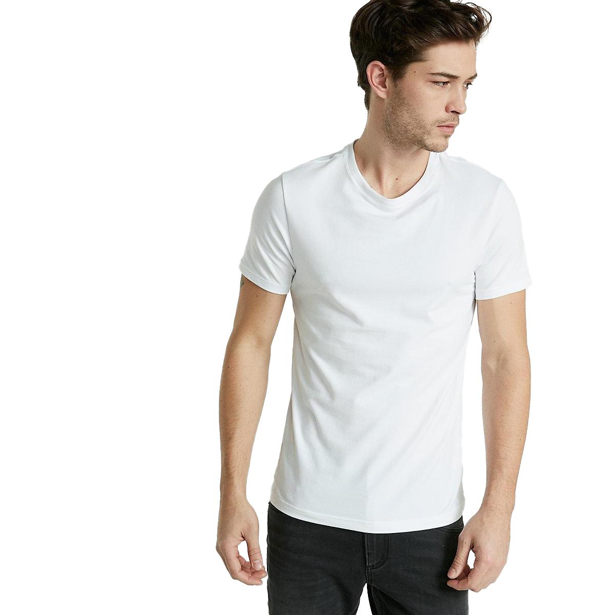 Round Neck Cotton TShirt for Men