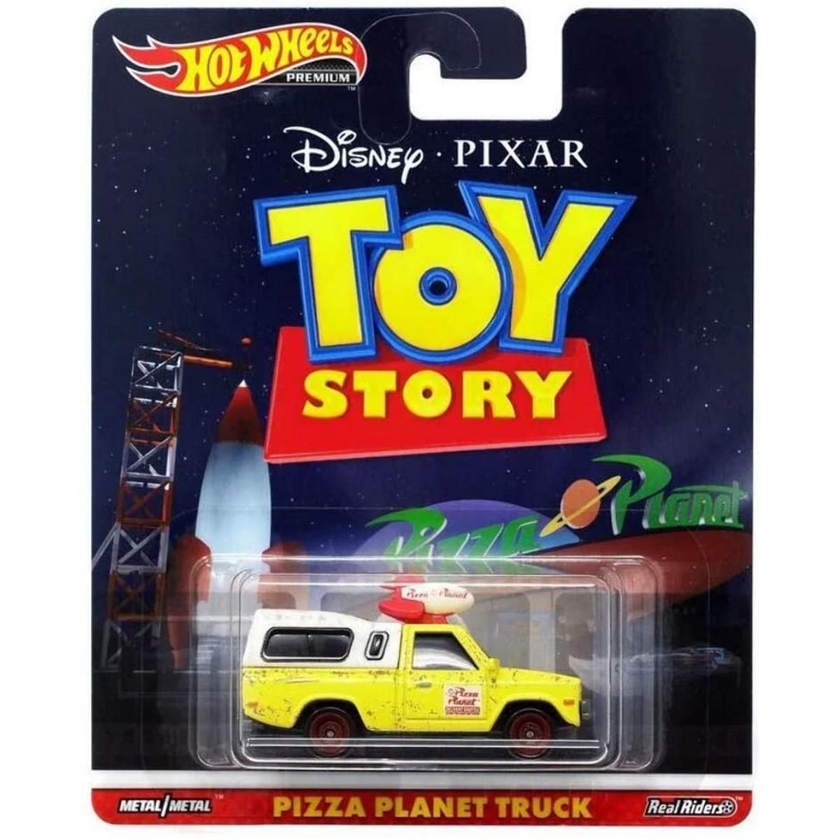 Hot Wheels Premium Pizza Planet truck Diecast Vehicle