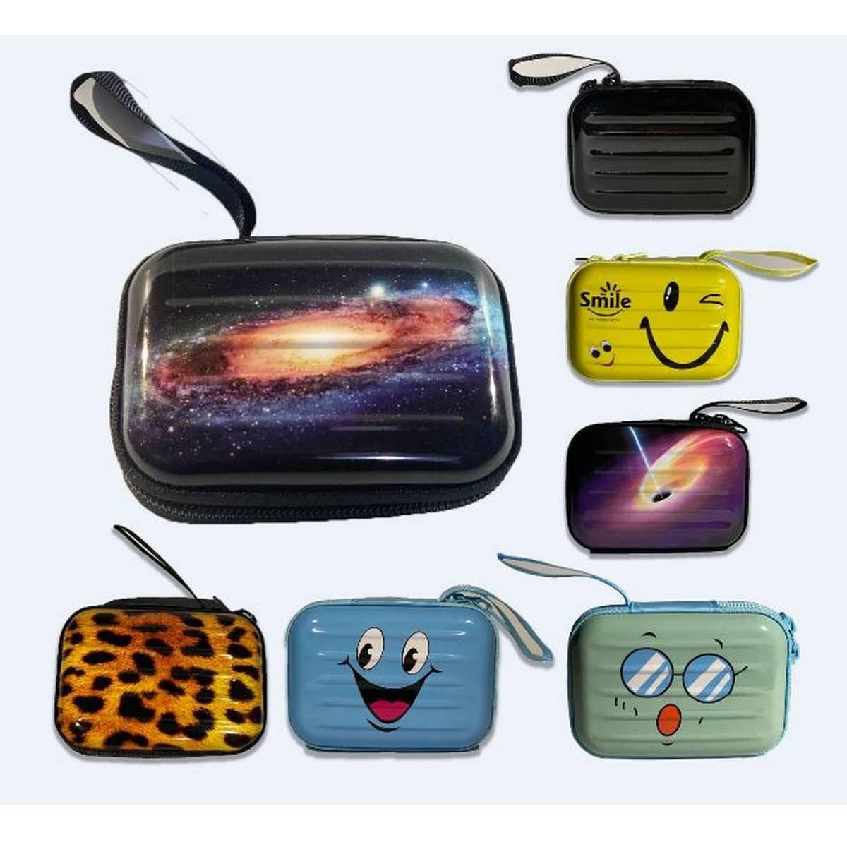 Stylish Alumina Wallet For Women, Card Holder Hard Casing, Aluminum Wallets For Girls Multipurpose