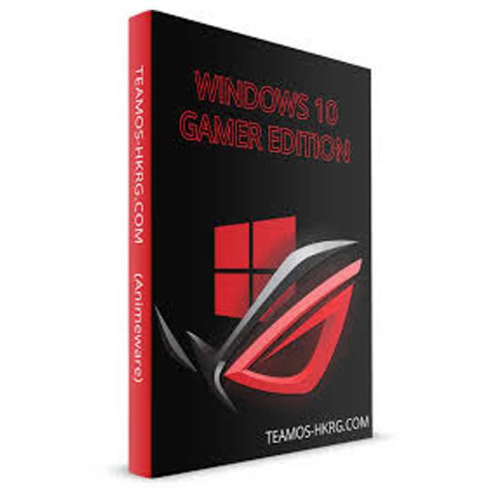 Windows 10 Gamer Edition  DvD - 2018 Edition - Now Optimize a new Speed