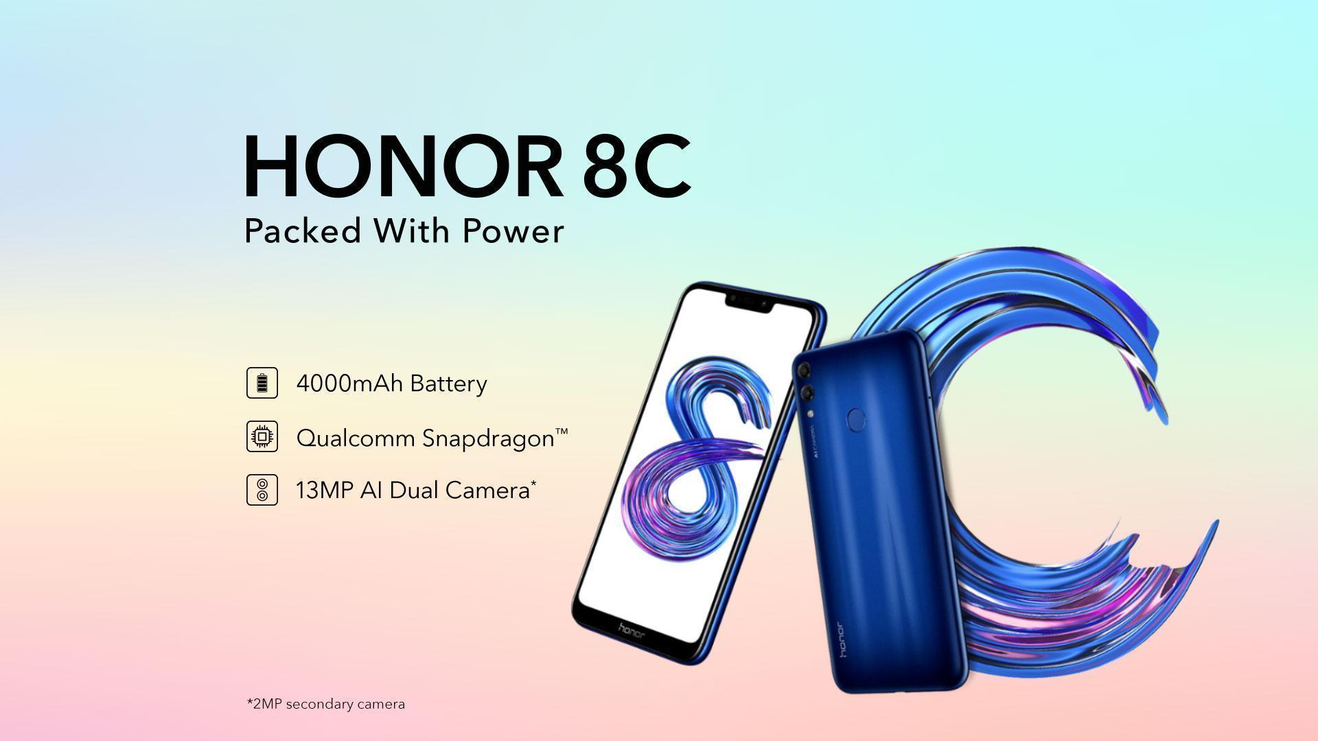 Honor 8C Qualcomm Snapdragon 632
