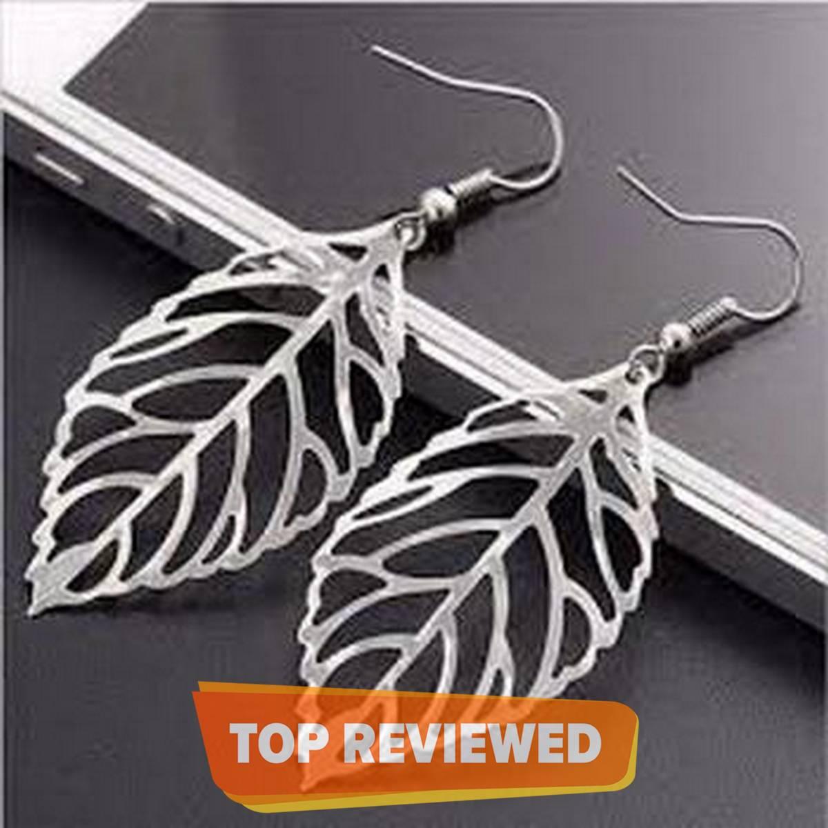 Kaytlins Leaf Shape Earrings For Women - New Arrivals
