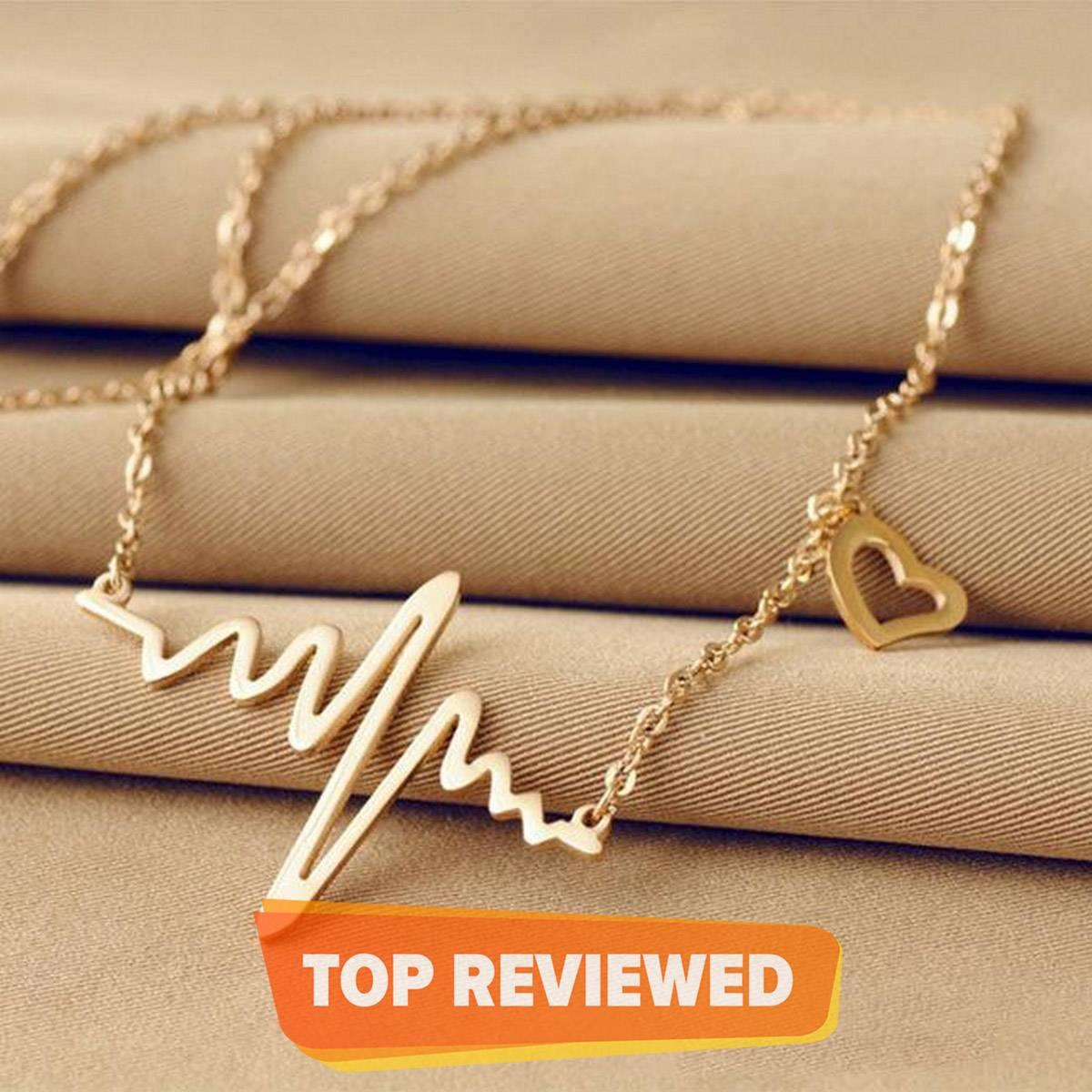 ECG Pendant Necklace For Women - New Arrivals