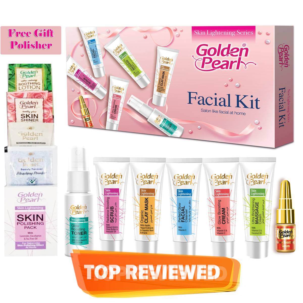 Golden Pearl Whitening Trial Kit