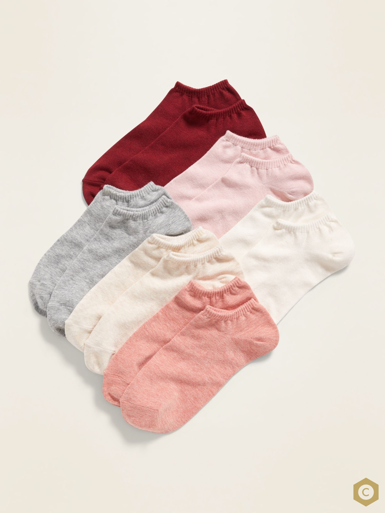 Code 6 Pairs Cotton Ankle Socks For Women  Cotton Ankle Socks For Men  No Show Low Cut Socks For Women  Business Casual Socks For Women - 3 Random colors