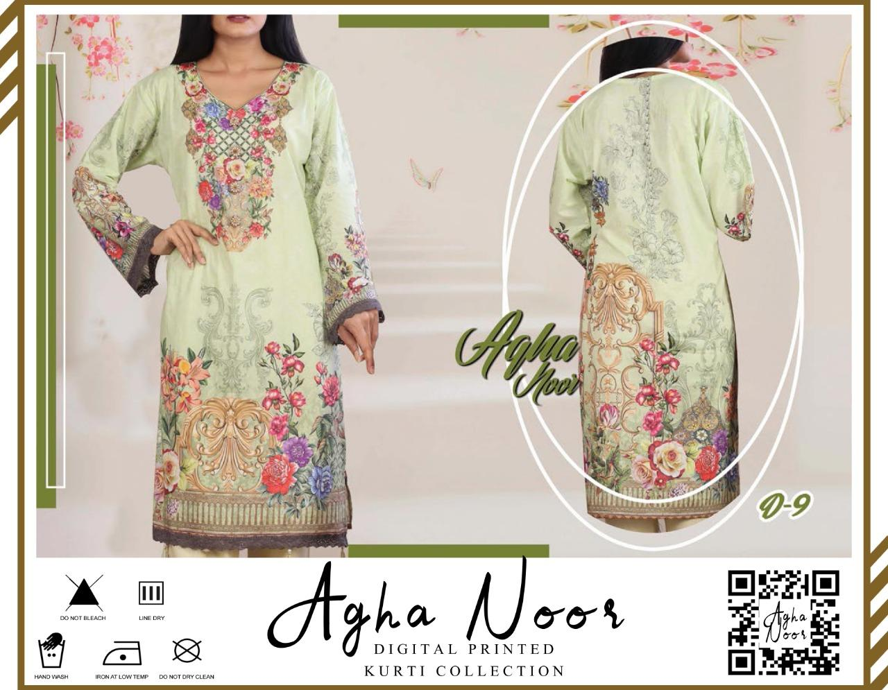 Agha Noor Digital Printed Kurti Collection Buy Online At Best Prices In Pakistan Daraz Pk Agha noor powder embroidery pattern kurta set powder blue. agha noor digital printed kurti collection