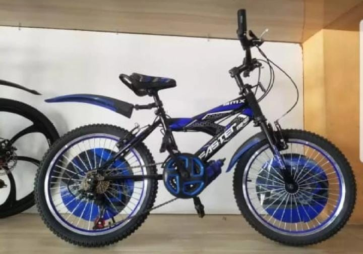 New 2021 Latest Model FASTER mountain Bicycle 20 inch With Shocks 21 Gears, best for Kids Bmx [Multi Colors]=Ss Seller Pakistan