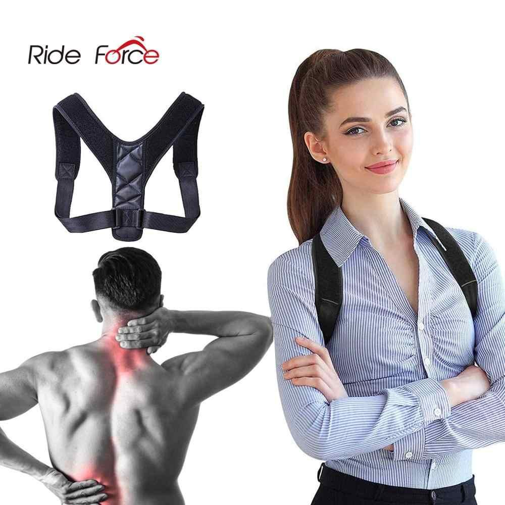 New Shoulder Belt Posture Corrector Adjustable Back Brace Shoulder Protector Belt Support for Men Women Gym Fitness Back Care Guard Strap
