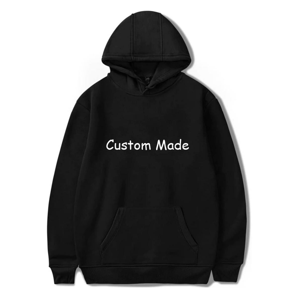 Customised printed hoodie for men and women