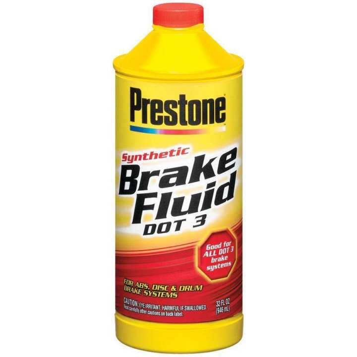 Prestone Break Fluid Dot 3  355 ML
