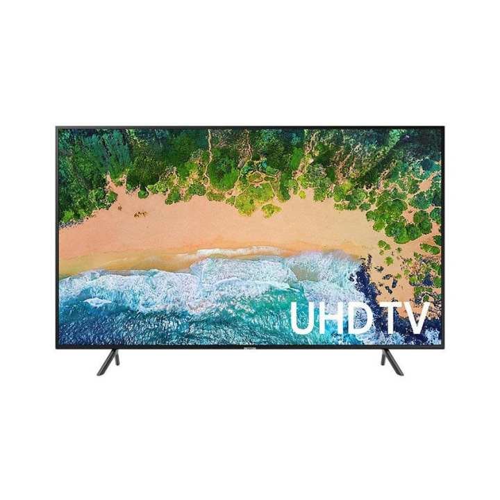 Samsung-55NU7100 - 55 Inch 4Ksmart- LED Tv - Black