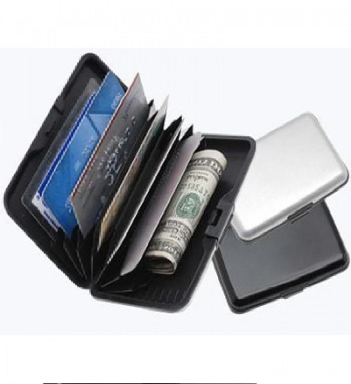 Aluma Wallet For Men - Black