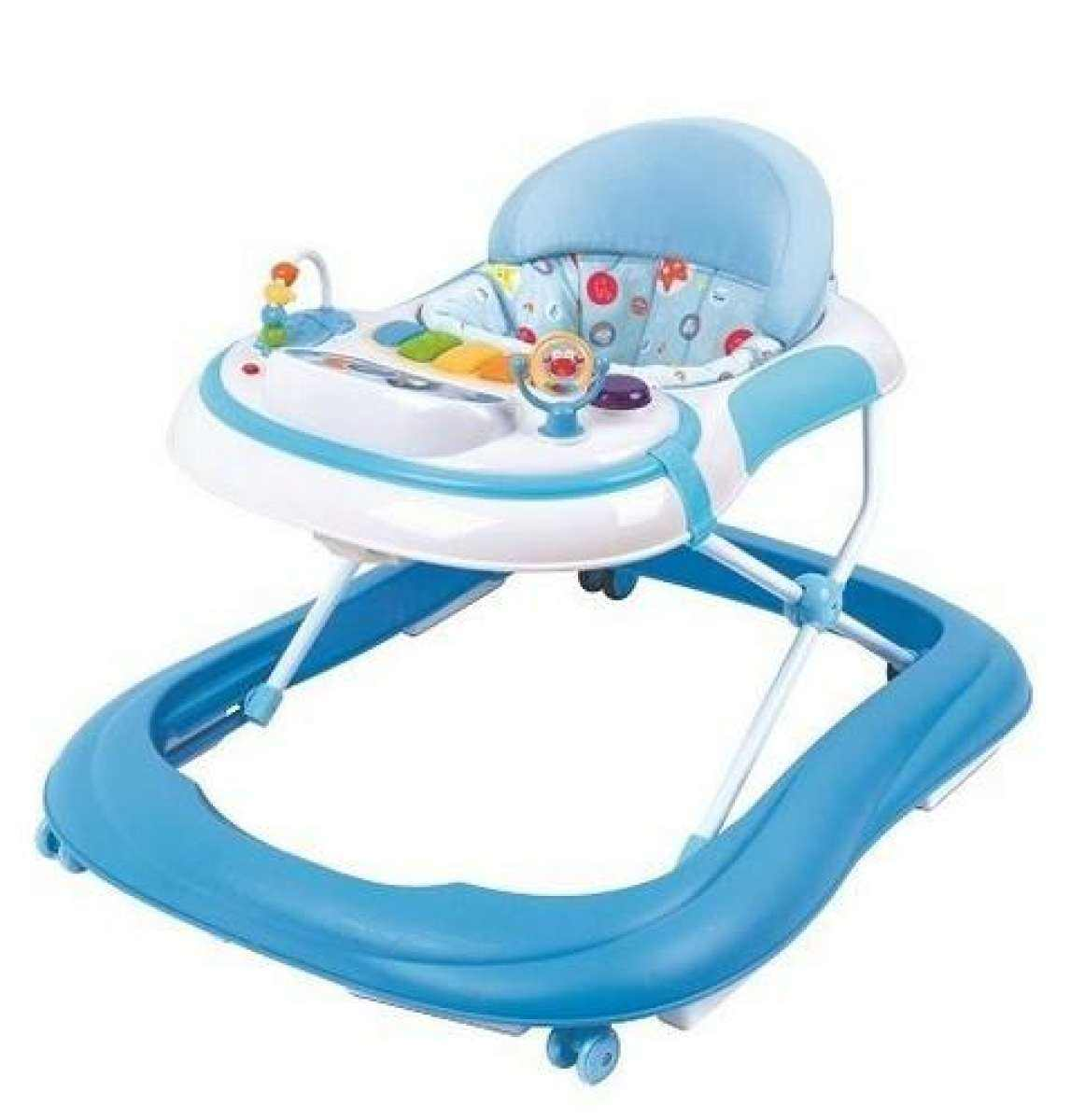Baby Walker For Kids-High Quality With Music Blue
