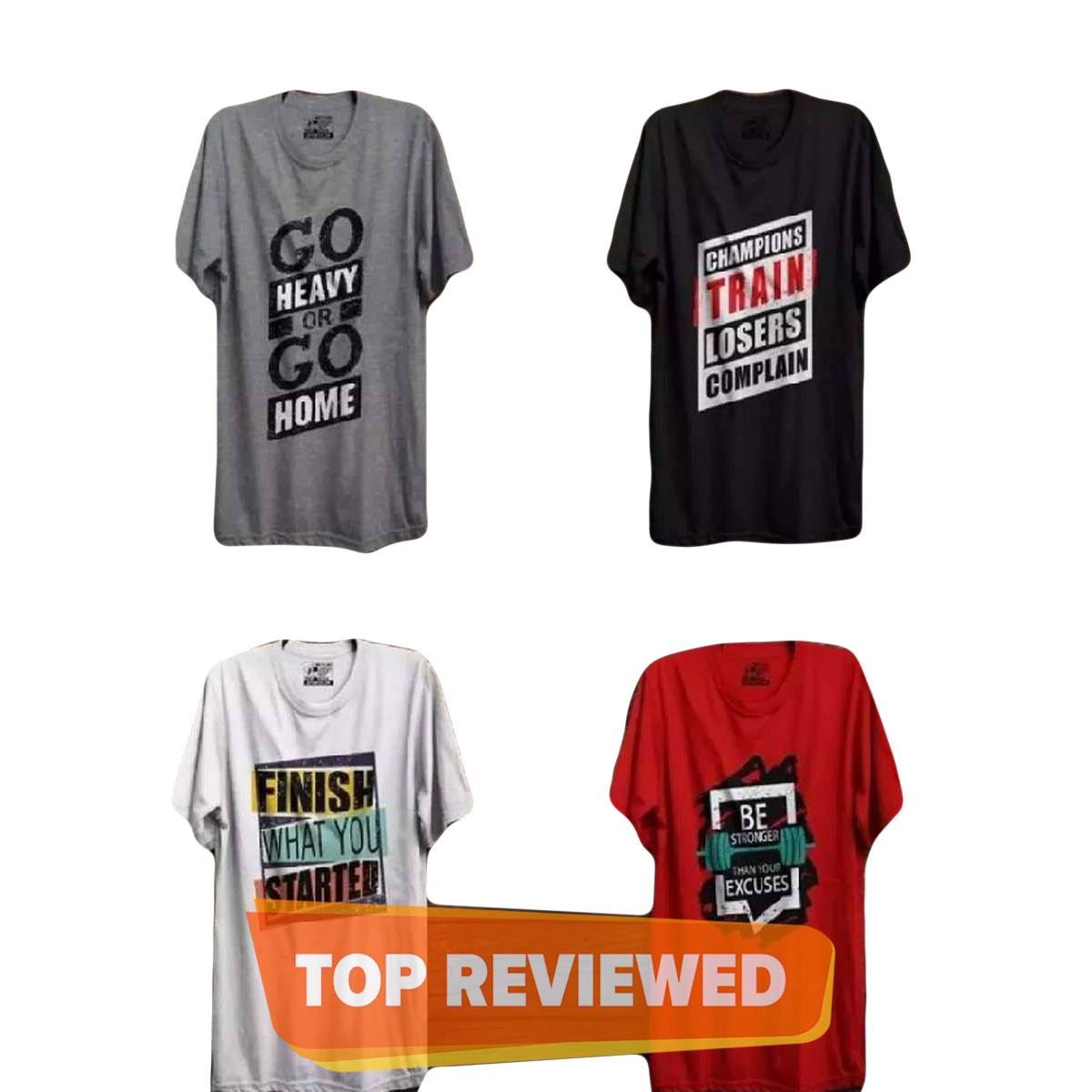 Pack of 4 new printed summer T shirt