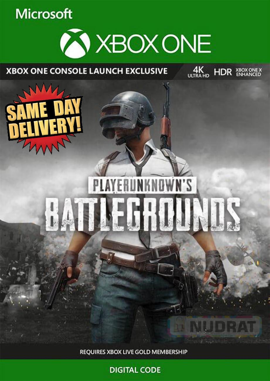 PUBG Xbox One Game Key Email Delivery