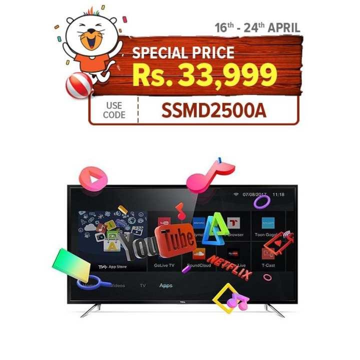 """TCL S64 40"""" Smart Full HD LED TV - Black"""