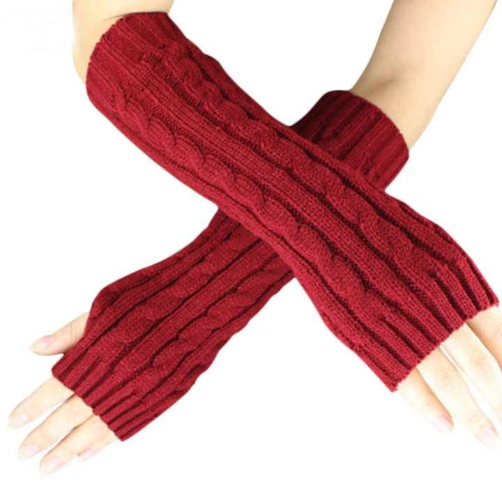 women winter soft gloves