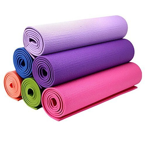 4 mm Thick, 6 feet (72 inches) Length, Almost 2 feet (23.4 inches) Width Yoga Mat, Upper Grain Non-slip surface Yoga, Eco Friendly Yoga Mat, Light Weight Yoga Mate, Home, Gym Workouts, Travel, Ideal for Women & Men, Moisture Resistance, Washable Yoga Mat