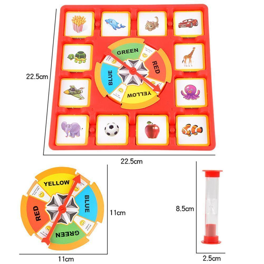 Astonishing Cards Turntable Memory Training Game Interactive Parent Child Toy Download Free Architecture Designs Scobabritishbridgeorg