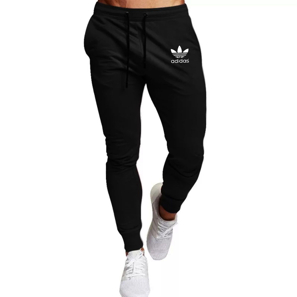 New Black French Terre Stuff Gym Sports Trousers and Jogging Sweatpant Export Quality Trouser For Men - IJ Traders