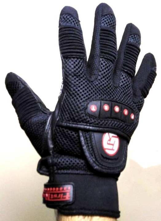 Gloves Motor bike Pro bike Cycling Full finger Black - Men and Women