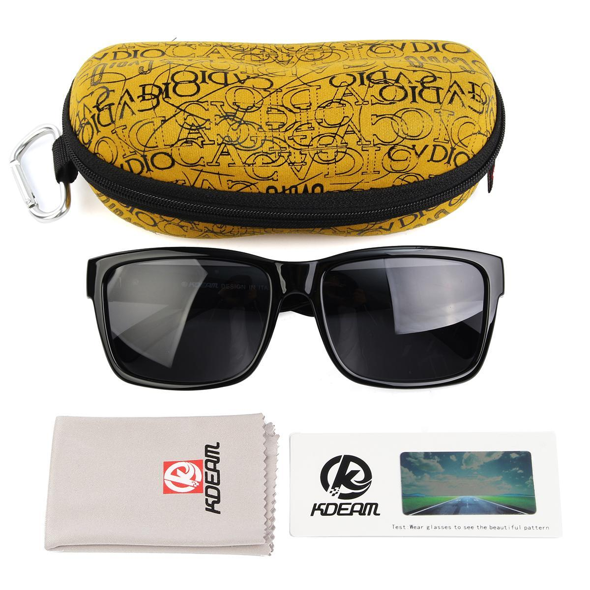 da8a173fc Kdeam Polarized Sunglasses Retro Outdoor Sport Drivng Helm Sun Glasses  Eyewear