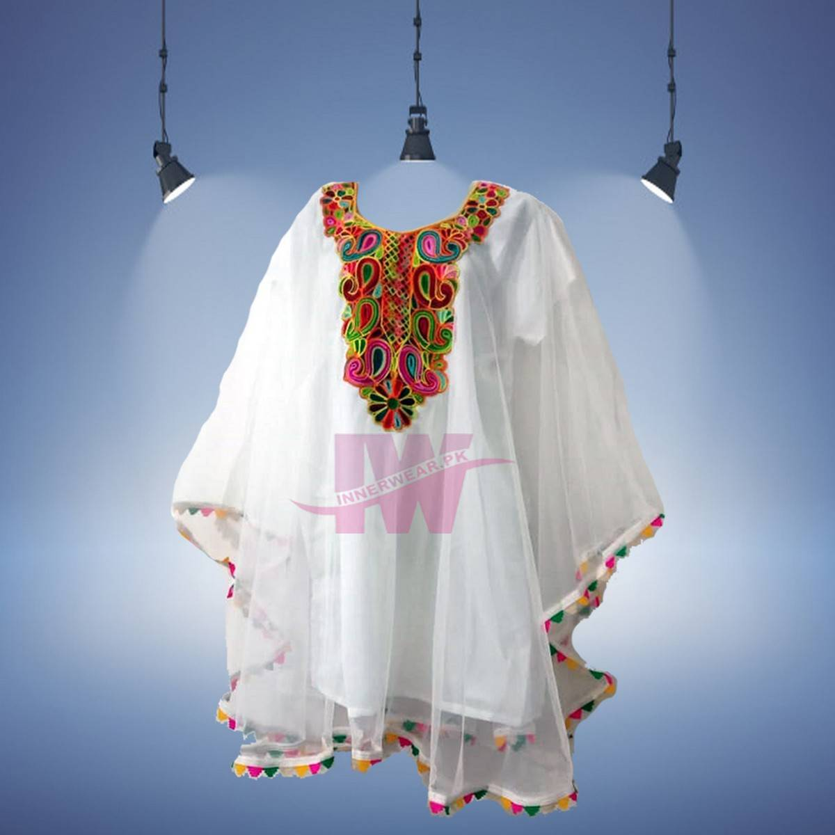 Women Ladies Girls Pure Net Kurti Kaftan Shirt Frock Top Kameez Poncho Special Event Eid Dress Party Wear Wedding Wear Free Size