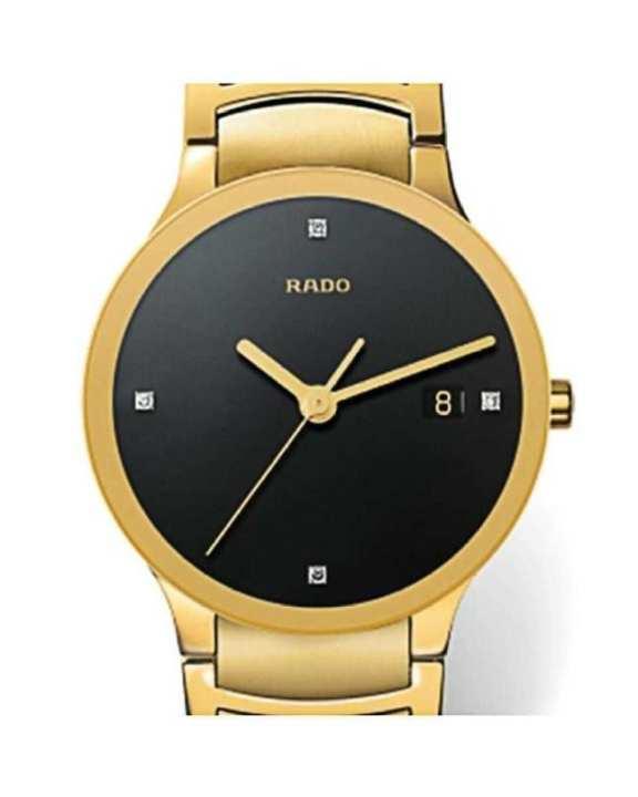 Golden Centrix Bracelet Watch