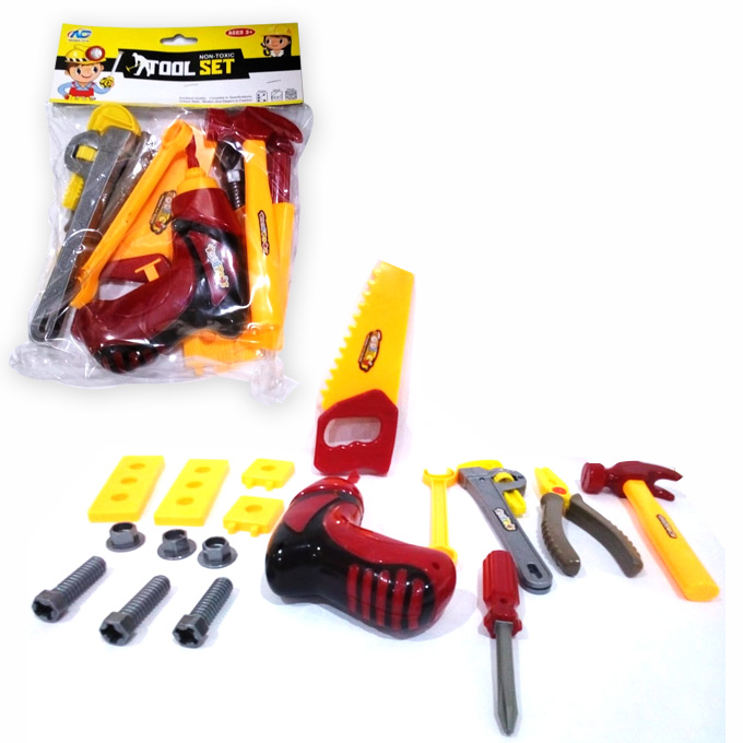 Tool set with Drill Bag for kids