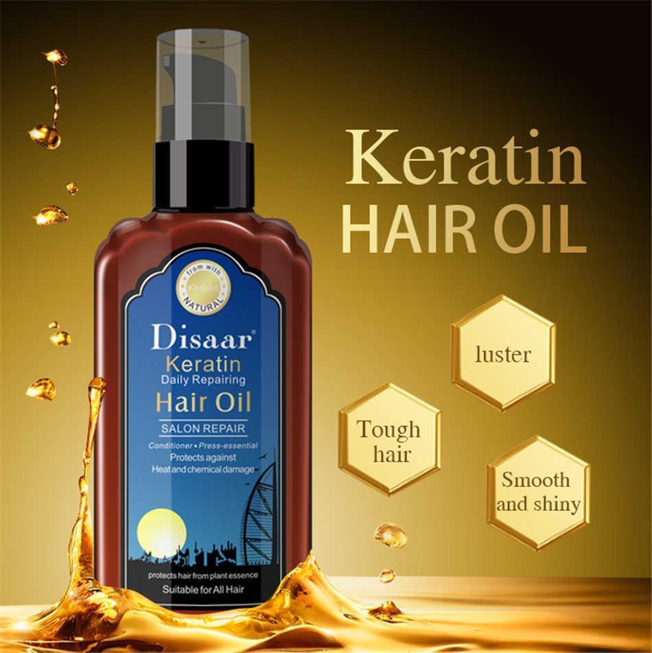 Hair Repairing Care Oil Disaar Keratin Daily Repairing Hair Oil Nourishing Smoothing Hair Care 120ml Buy Online At Best Prices In Pakistan Daraz Pk