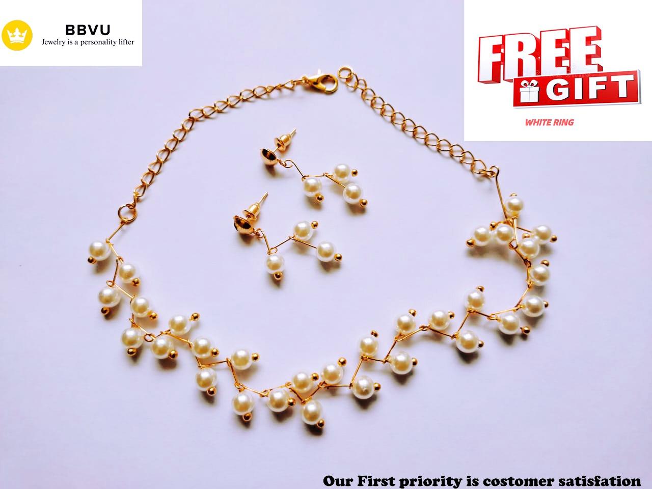 Royal Indian Jewellery Necklace Set Beautiful Earrings for girl/women
