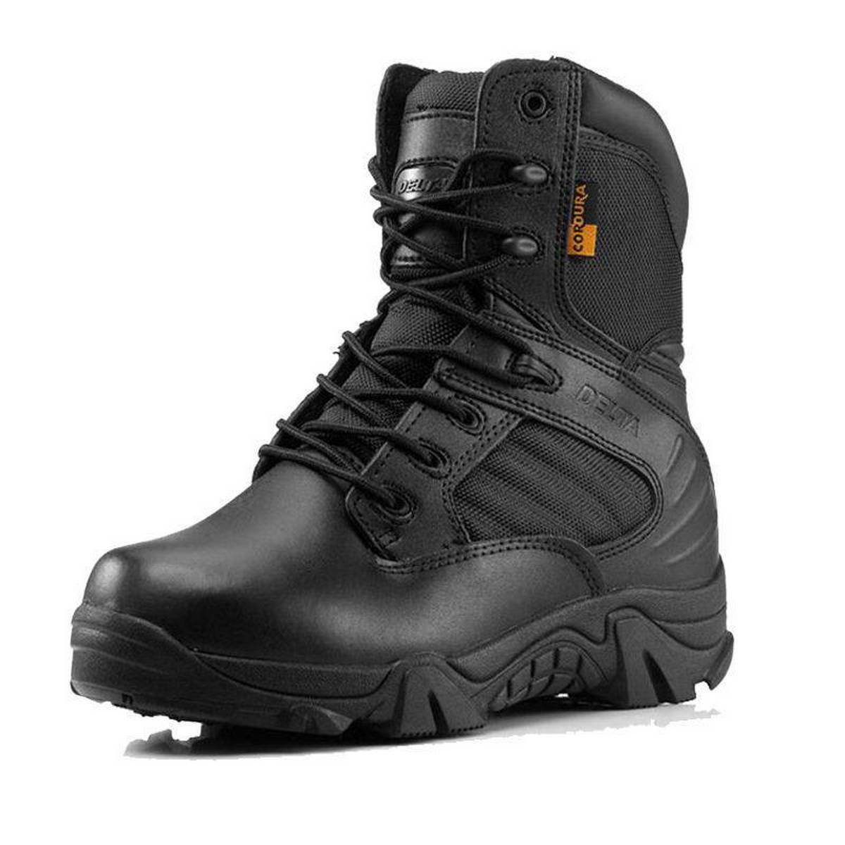 Delta Men New Military Tactics Ankle Boots Desert Combat Army Hiking Hiking Shoes Black