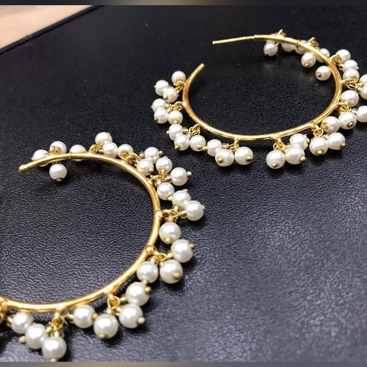 Charming Latest Fashion  Gajra Bali Earrings for Girls