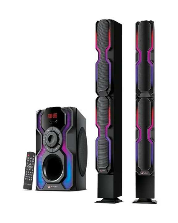 Audionic Reborn RB-115 - High Quality Sub-Woofer And Standing Bar-Speakers
